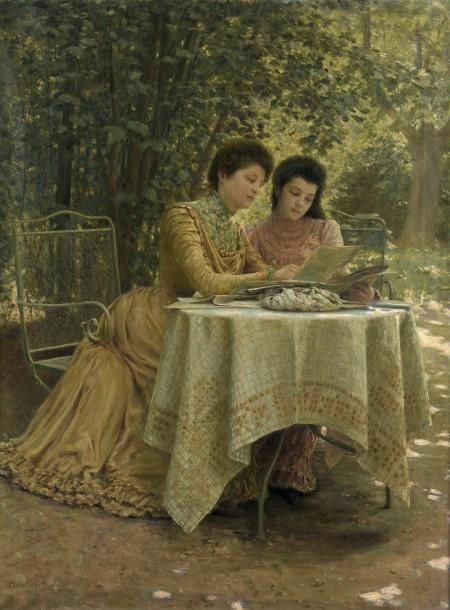 (1901). Clovis-Francois-Auguste Didier (French, 1858-1939