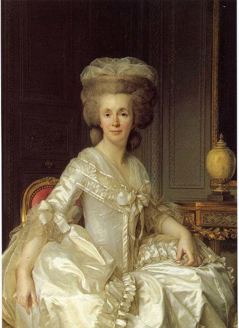 Portrait of Suzanne Curchod (Madame Jacques Necker) (1739-1794)