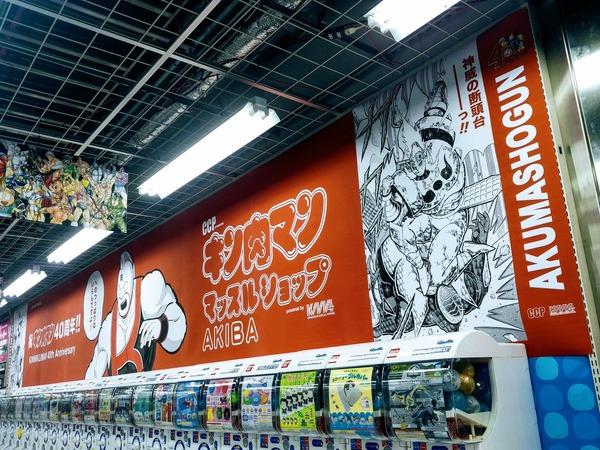 【悲報】ヨドバシアキバのフィギュアコーナーが大幅縮小、大半をキン肉マンとガチャに占領されてしまう