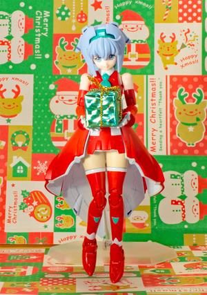 【ガンプラ】サラちゃんをクリスマス仕様にしてみた