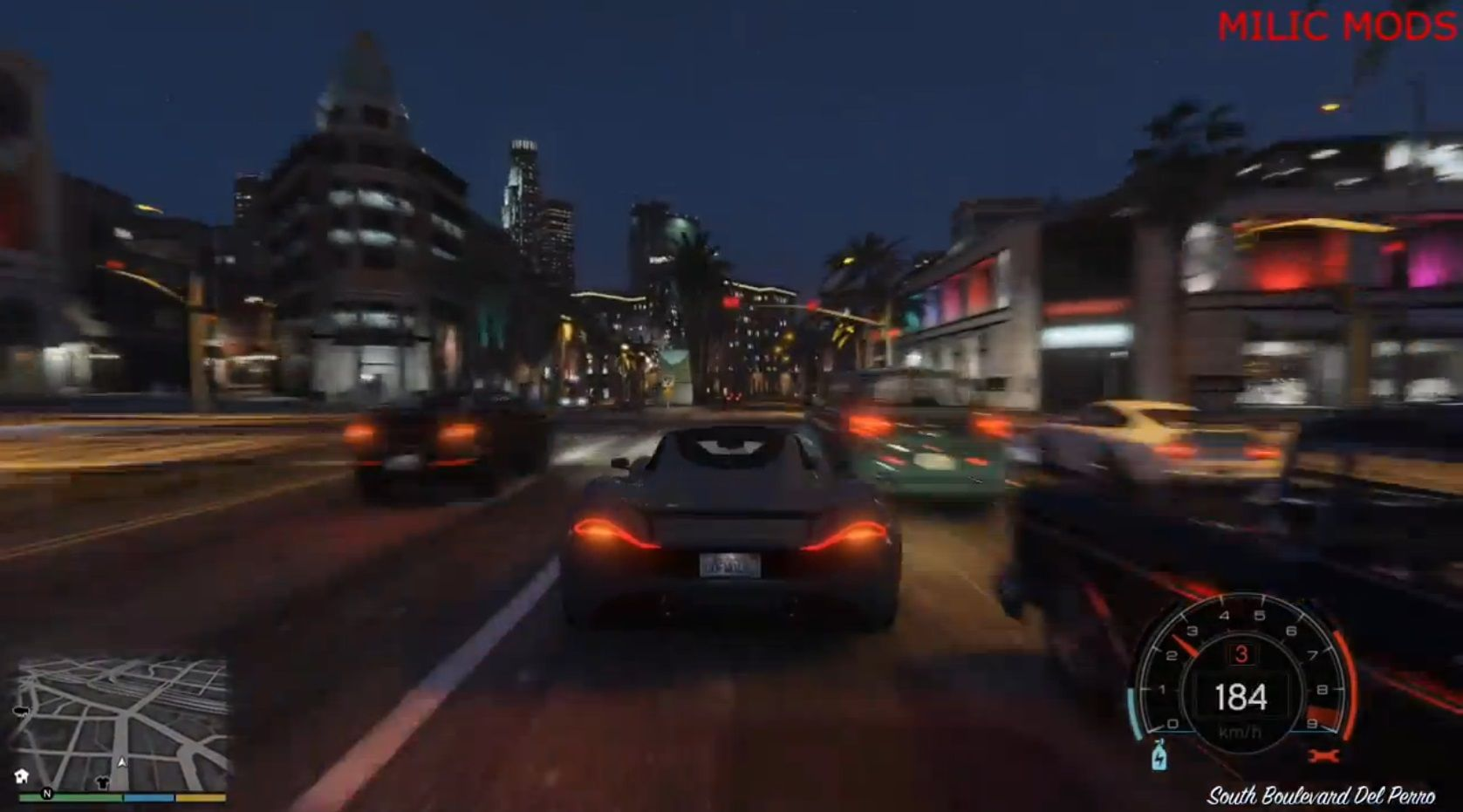 【GTA5 PC版】NFS仕様「スピードメーターMod」速度、回転数、ギア ...