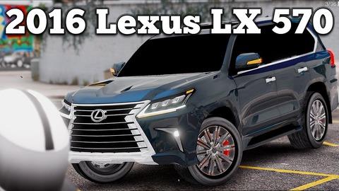 gta5Lexus2016LX570