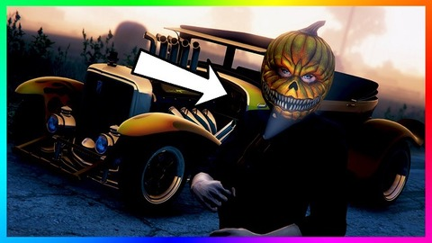 GTA 5】 The longest 'horn' in '2016 Halloween Update' is banned ...