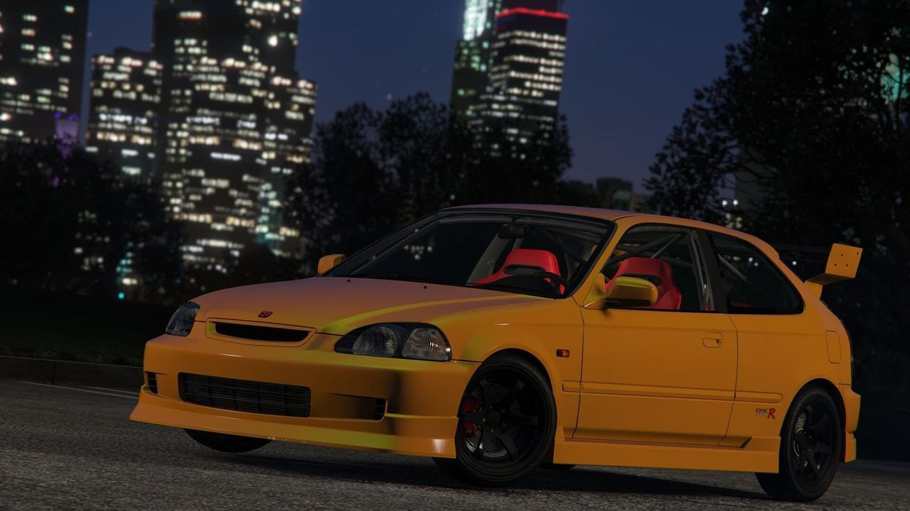Gta5 pc mod r ek9 5 for Honda civic ek9