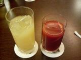 グレープフルーツジュース&トマトジュース