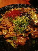 メイドin 高麗 ピリ辛ホルモン焼きうどん(750円)