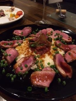 欧風料理カブト 鴨の低音ローストリゾット添え (1)