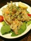 前菜�小魚のカルピオーネ