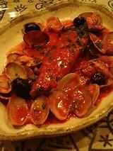 くるみ 季節の魚のソテー地中海風 1350円