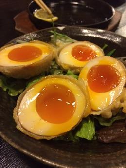 博多一番とり八代 煮玉子天ぷら