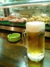 生ビール(390円)