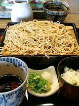 し奈乃 十割ざる蕎麦(1080円)