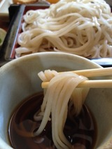 布引庵 ふじ岡 ざる定食 1050円