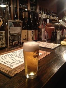 居酒屋遊膳 ビール