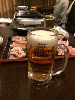 ひなどり ビール