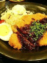 味噌カツランチ(950円)