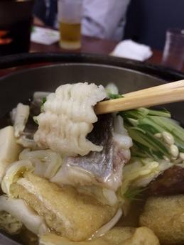 どい寿司 はも鍋 (1)