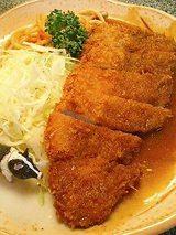 名代とんかつ定食(700円)
