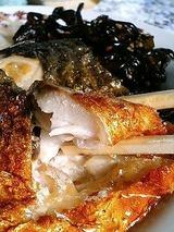 山中食堂 サバの焼魚定食 580円