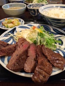 和くら 牛タン定食 (1)