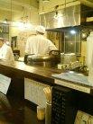 厨房が見えます。