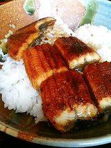 鰻丼ランチ