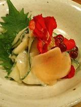 加賀キューリ豆腐味噌あえ(580円)