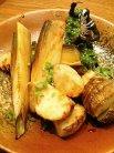 竹の子醤油焼き