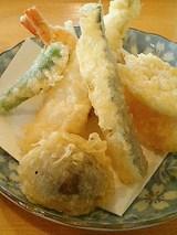 えびと野菜天ぷら(6品)