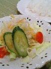 サラダ&ライス