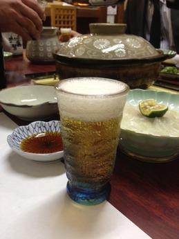どい寿司 ビール