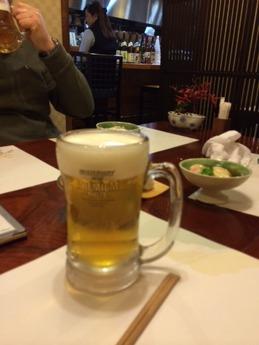 ふく亭 生ビール