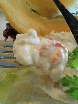 ラ ポム 香住ずわい蟹とアボガドのリゾット2