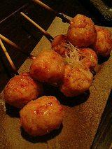海老つくね串焼き(550円)