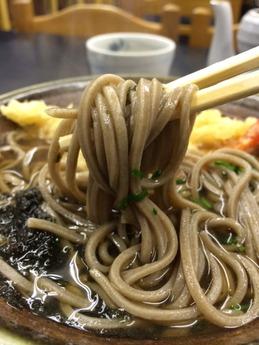 黒崎 天ぷらそば (1)