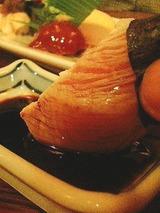 焼鳥 鳥鳥鳥 みとり寿司(ささみ湯引き)