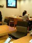 Flat cafe テーブル席