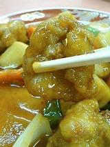 天龍 酢豚 700円