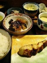 北海 焼魚(さわら)定食 700円