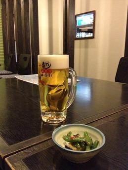 博多一番どり 神水店 ビール