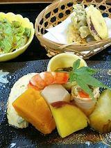 天ぷら・煮物・サラダ
