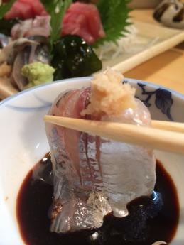 柳すし 造り (2)