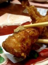 関西  河豚カラアゲ