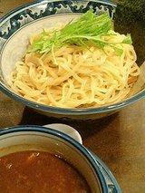 桔梗屋 醤油つけ麺(780円)