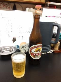 桂華ラーメン ビール
