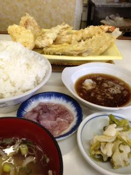 天ぷらのだるま 大野城店 ミックス定食
