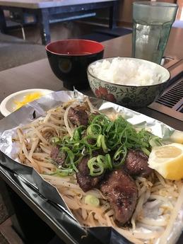 尼崎タン定食 (3)