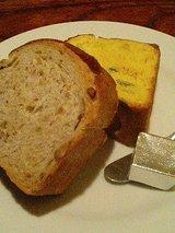 ハング くるみパン、カボチャパン