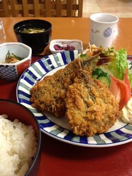 グリル大山 魚定食 700円