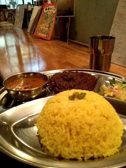 文化屋食堂 カラダニ優しいインドカリー 950円